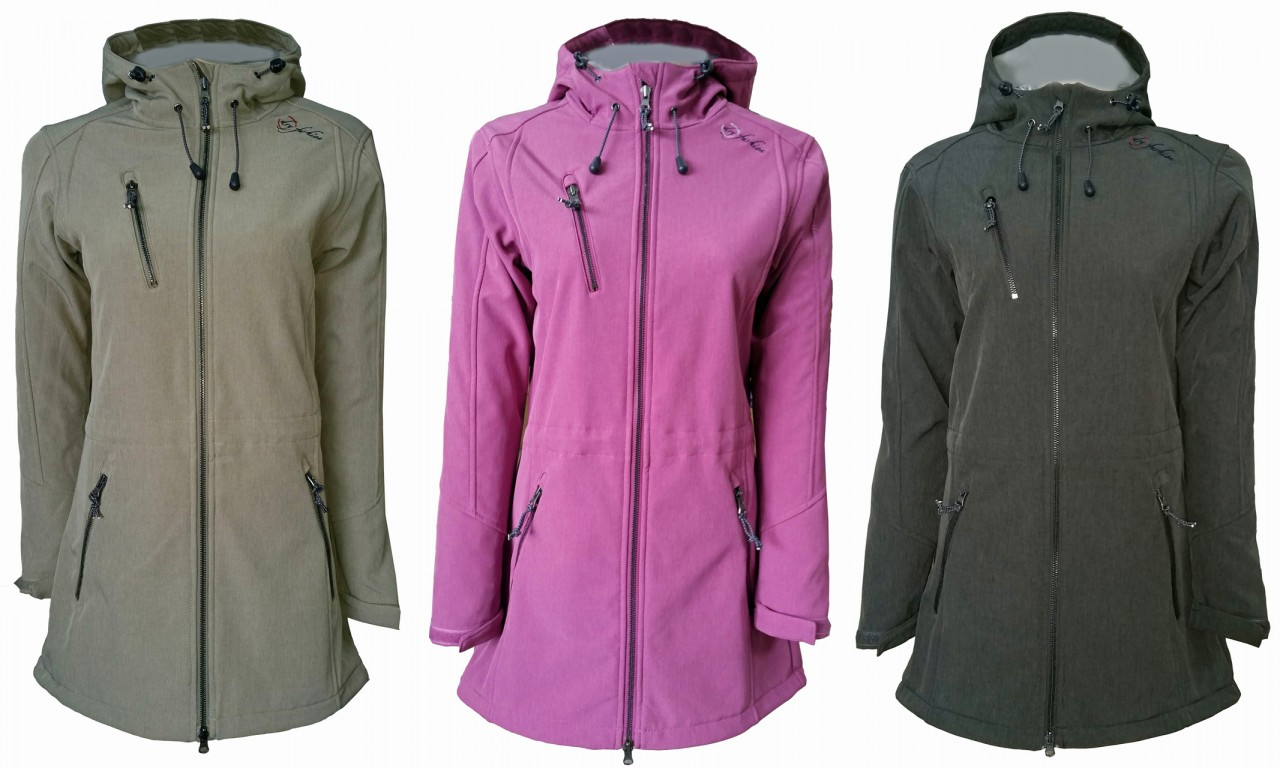 Mantel damen softshell