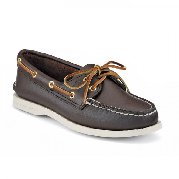 Sperry Top-Sider Damenschuh Authentic Original 2 Eye Classic Brown
