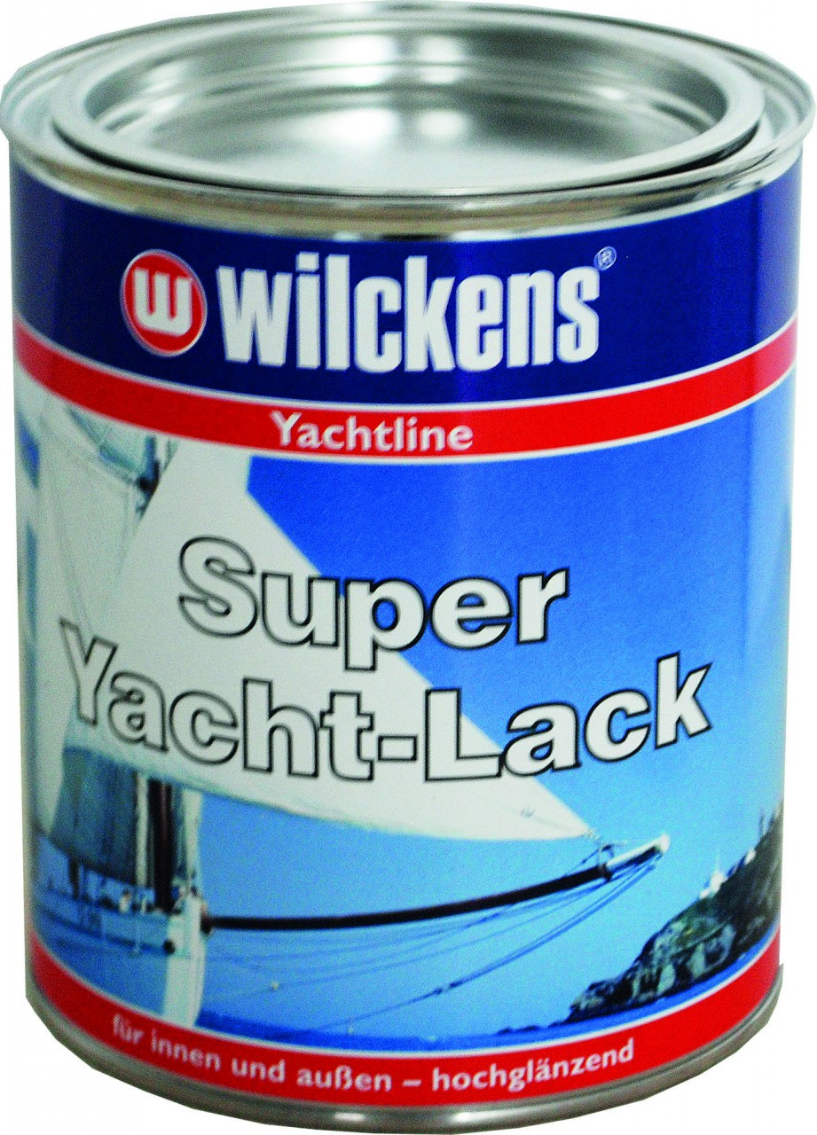 22 60 1l wilckens super yacht lack 750ml f r metall. Black Bedroom Furniture Sets. Home Design Ideas