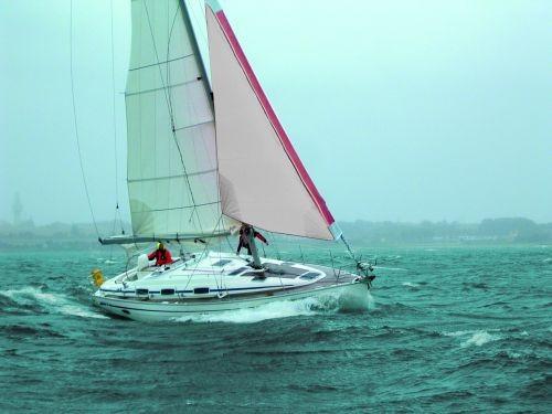 Tourmentin pour r les de voile blanche avec rouge diff rentes tailles fock voile ebay - Voile hivernage rouleau ...