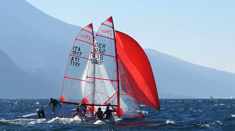 29er German Sailing Team - Siemann-Riethmeister