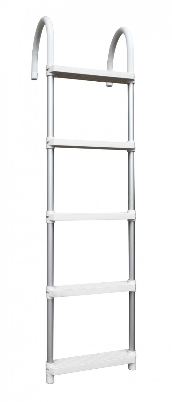 navyline aluminium badeleiter zum berh ngen h ngeleiter ideal f r reling boot ebay. Black Bedroom Furniture Sets. Home Design Ideas